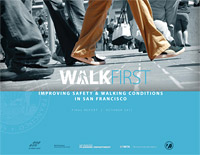 Cover image of Walk First report