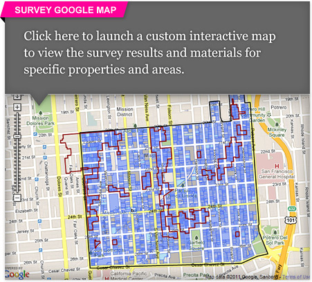 South Mission Historic Resource Survey Google Map