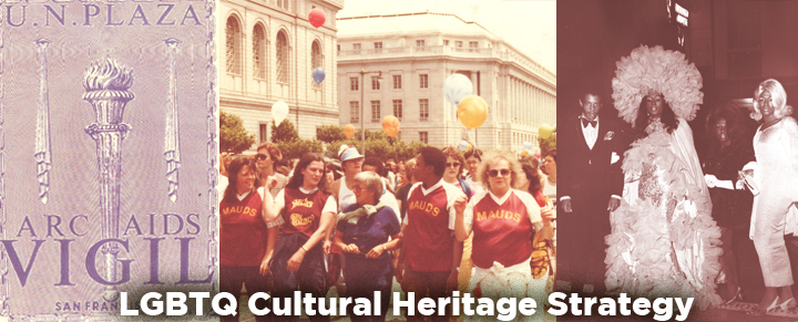 LGBTQ Cultural Heritage Strategy Banner
