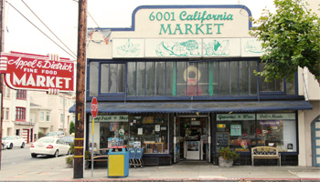 Appel and Dietrich Mini Mart at 6001 California Street.