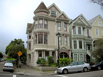 Example of a Queen Anne-style house