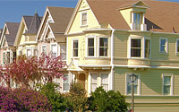Houses on Duboce