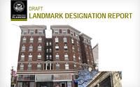 Landmark Designation Report