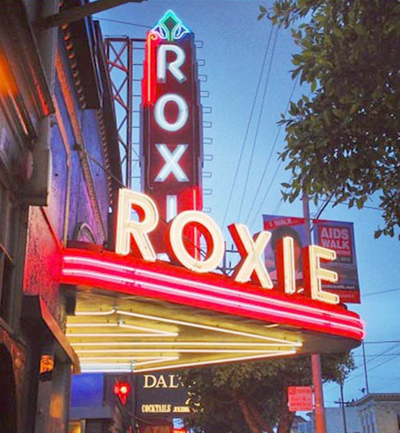 Roxie Theater in the Castro.