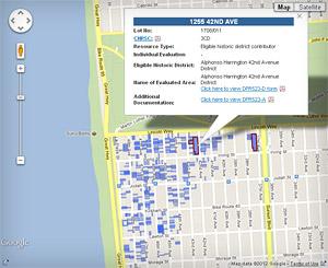 Oceanside Historic Resource Survey Google Map