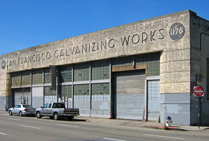 San Francisco Galvanizing Wroks building