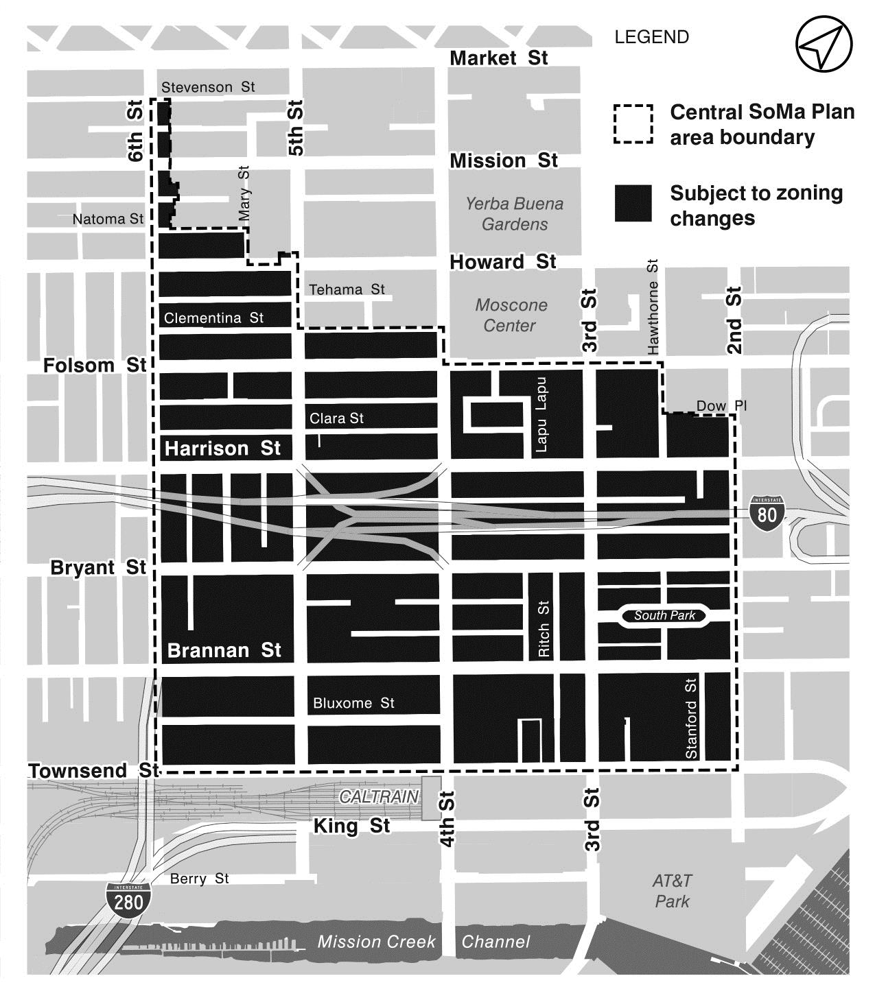 Case No 2017 1356emtzu Central Soma Plan Proposed General Planning Code Administrative And Zoning Map Amendments