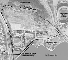 Executive Park Subarea Plan map