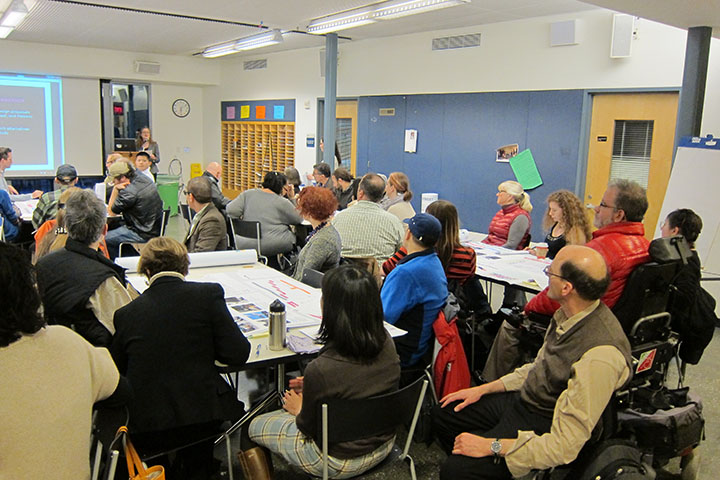 Haight Street Public Meeting group