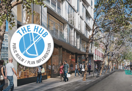 The Hub: Public Realm / Plan Refinements logo