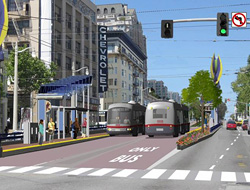 Plan Goal: Support Transit Enhancements