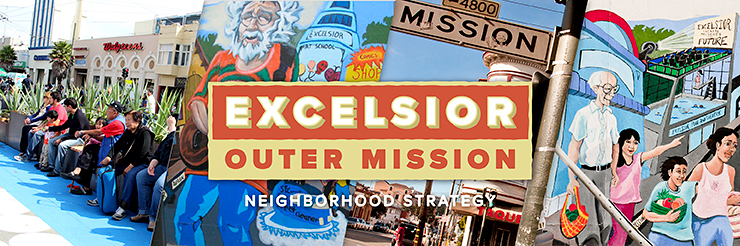 Excelsior and Outer Mission Banner