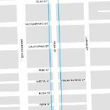 Polk Streetscape Map Inset