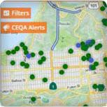 CEQA Exemptions Map