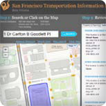 SF Transportation Information Map