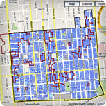 South Mission Historic Resource Survey Map
