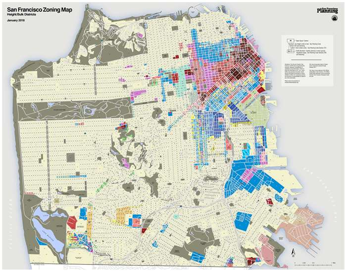 Zoning Map HeightBulk Districts Planning Department